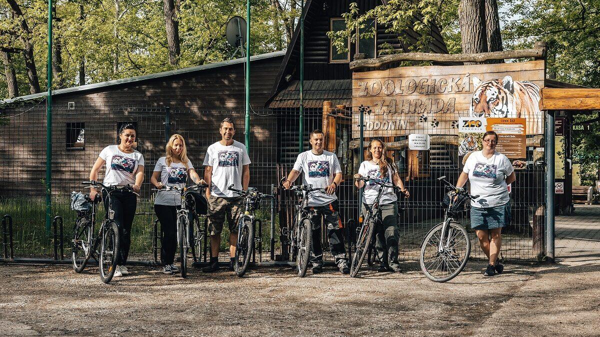 I zaměstnanci Zoo Hodonín jezdili v květnu do práce na kole