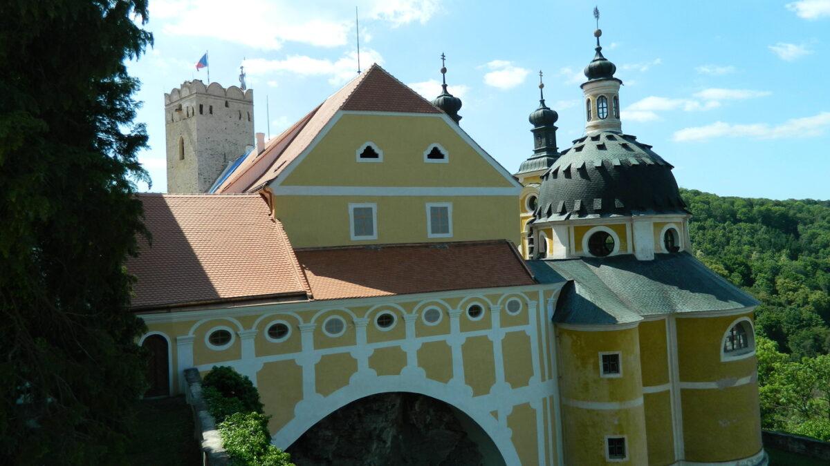 Vranovský zámek zpřístupnil opravenou strážní věž