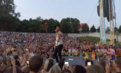 Marek Ztracený vystoupil před Mikulovem. Foto: Martin Daneš