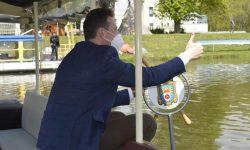 Odemykání řeky Moravy