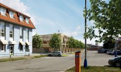 Parkovací dům v Břeclavi. Foto: P.P. Architects s.r.o.