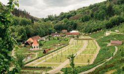 Vrchnostenské zahrady na hradě Pernštejn. Foto: Jihomoravský kraj